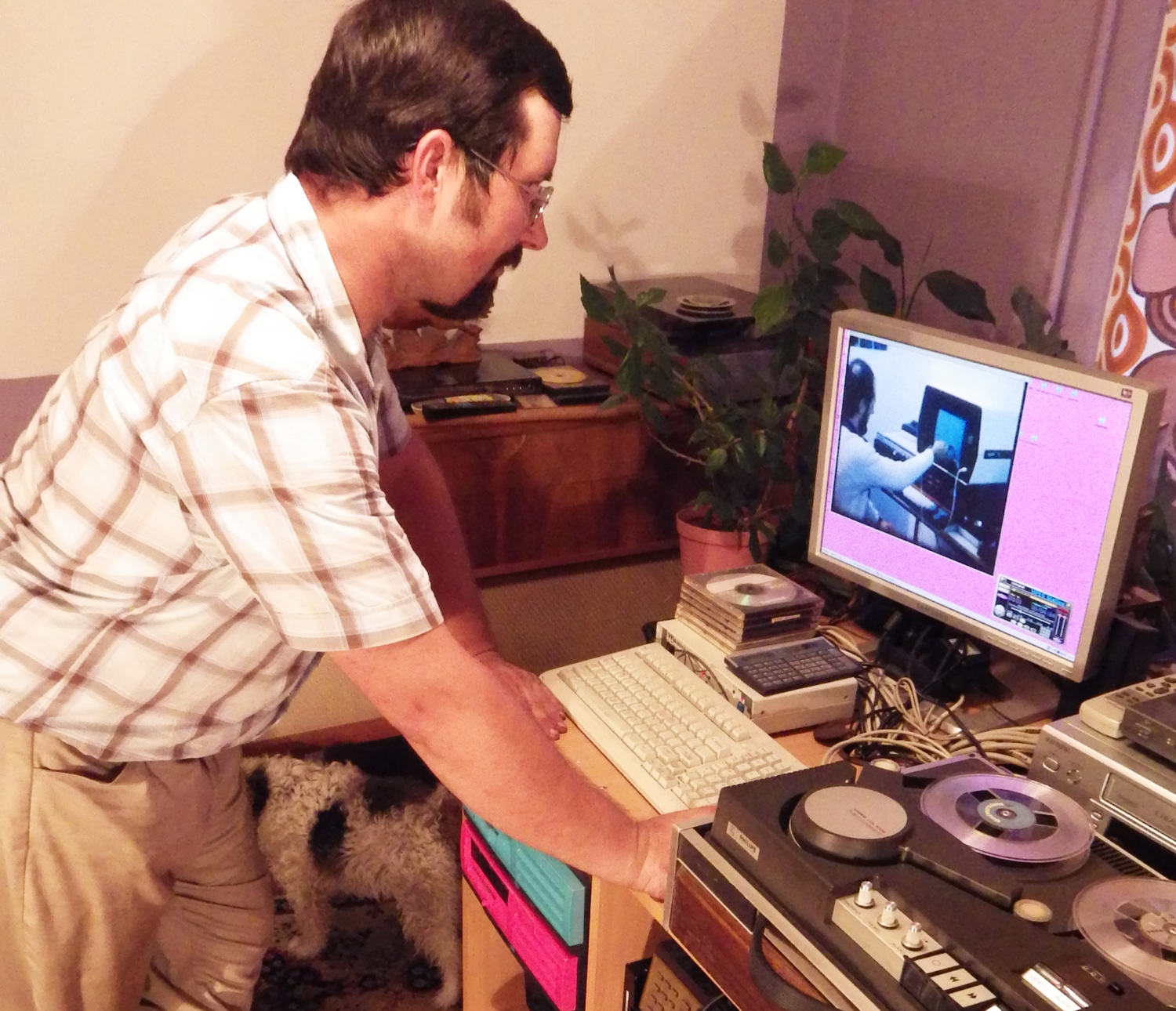 Digitize early 70s reel-to-reel video tape